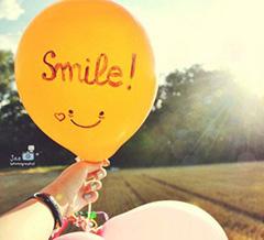 улыбнись!